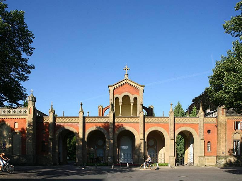 Eingang zum Friedhof Engesohde