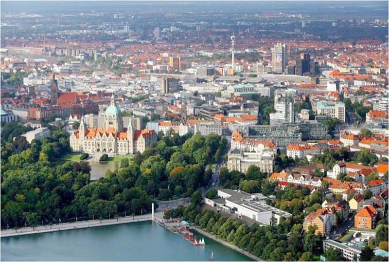 Luftaufnahme Stadt Hannover