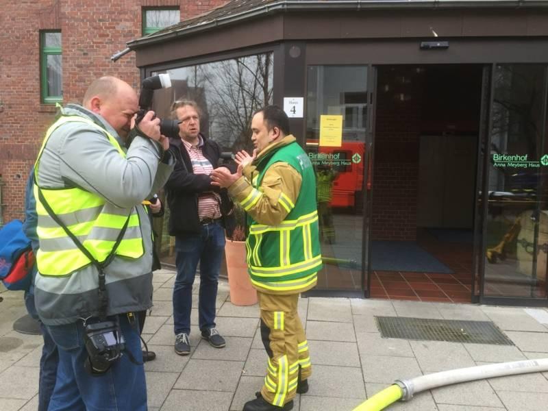 Pressesprecher der Feuerwehr Hannover