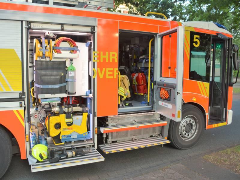 Fahrzeug der Feuerwehr Hannover