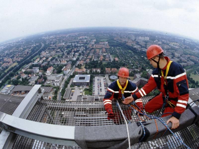 Höhenrettung Feuerwehr Hannover