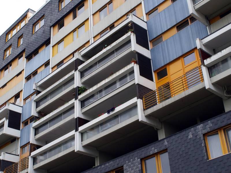 Fassadenausschnitt des Ihmezentrums