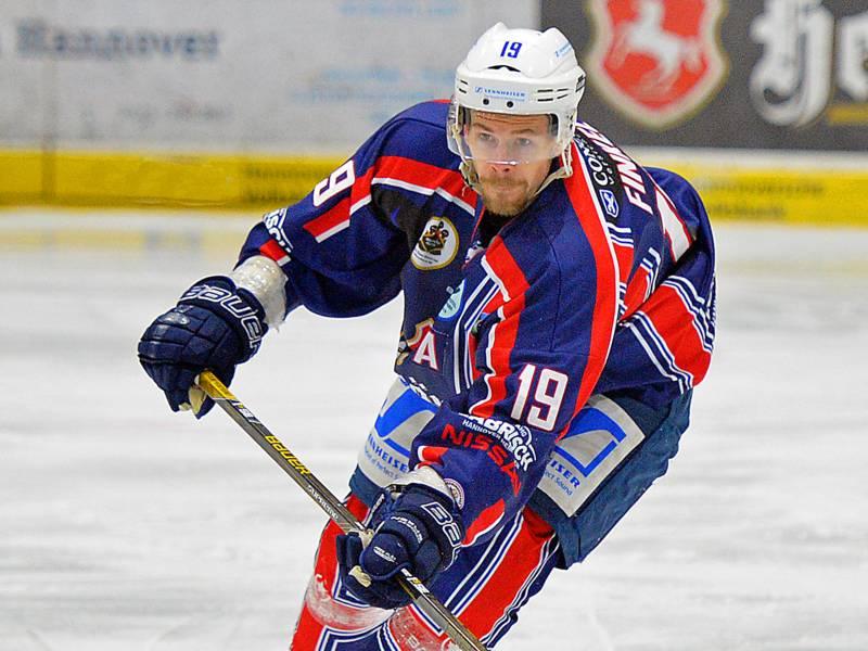 Der Eishockeyspieler Armin Finkel