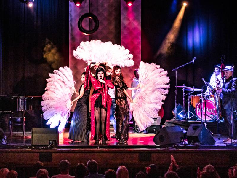 Burlesque-Gruppe
