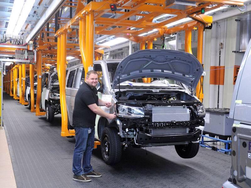 Montage von Fahrzeugen