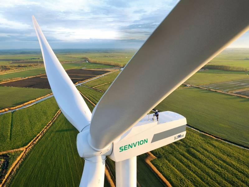 Teil einer Windenergieanlage