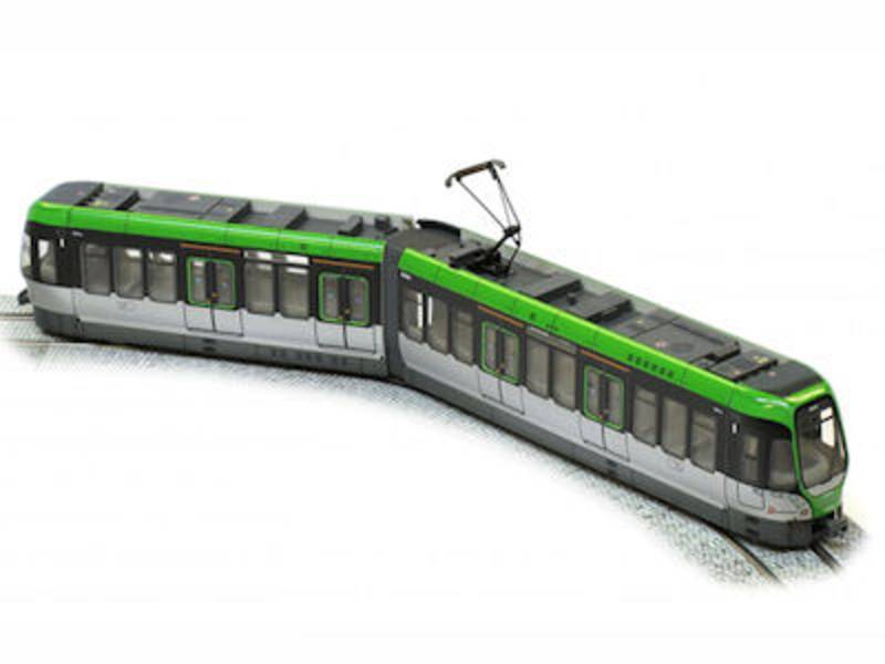 Modell einer Bahn
