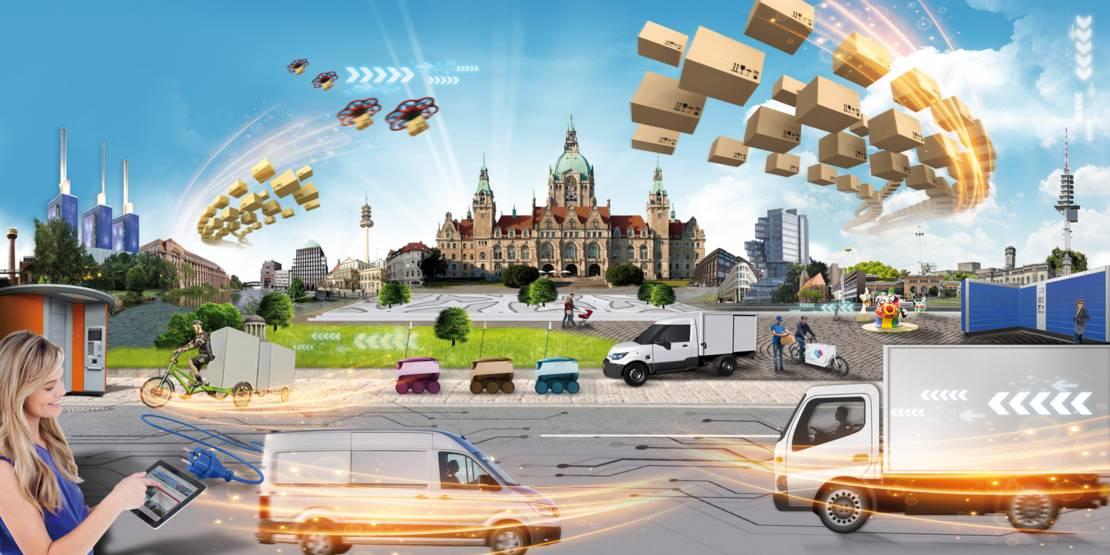 Urbane Logistik Hannover