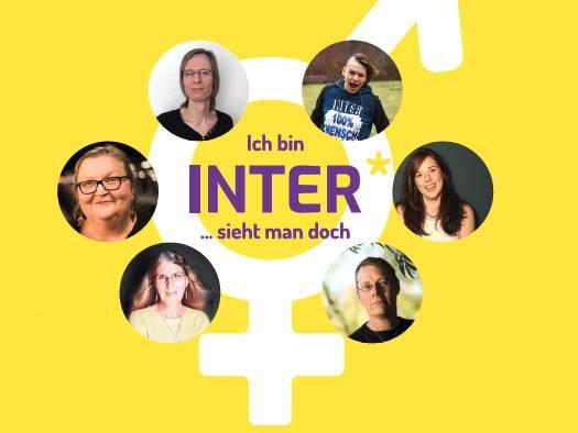 """Plakatkampagne: """"Ich bin Inter*… sieht man doch"""""""