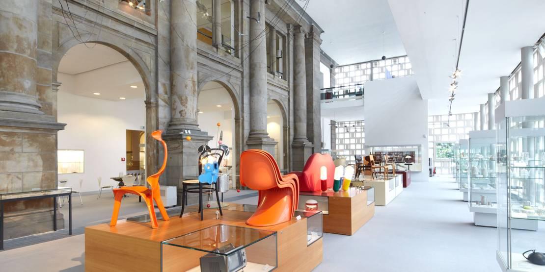 Innenaufnahme Museum August Kestner