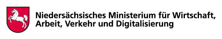 Logo Niedersächsisches Ministerium für Wirtschaft, Arbeit, Verkehr und Digitalisierung