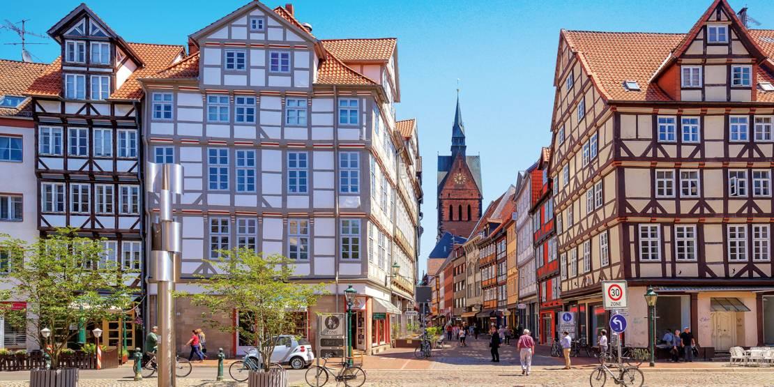 Eine Szene aus der Altstadt.