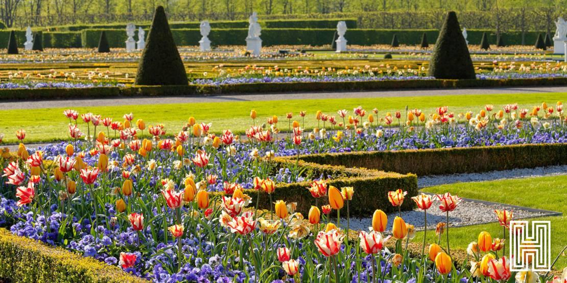 Herrenhäuser Gärten im Frühling