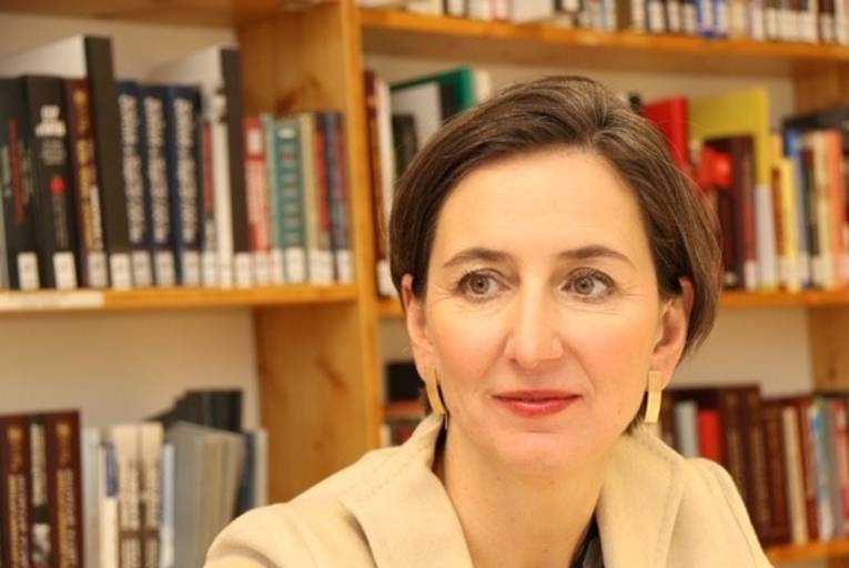 Prof. Dr. Barbara Stelzl-Marx, Leiterin des Ludwig-Boltzmann-Institutes für Kriegsfolgenforschung und Professorin für europäische Zeitgeschichte an der Karl-Franzens-Universität Graz