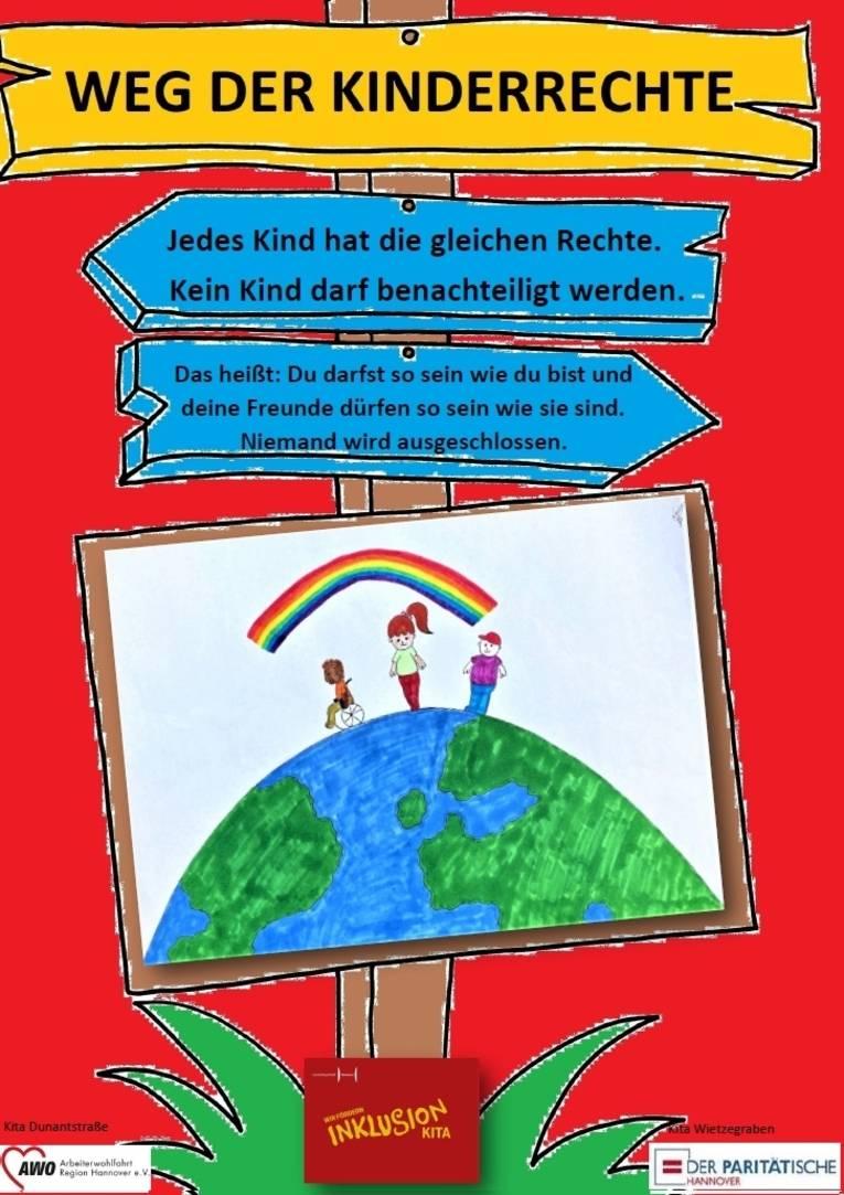 Sie sehen das siebte Plakat zu den Kinderrechten
