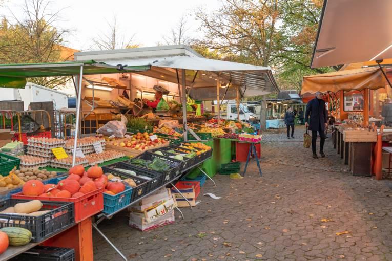 Markttag im Zooviertel.