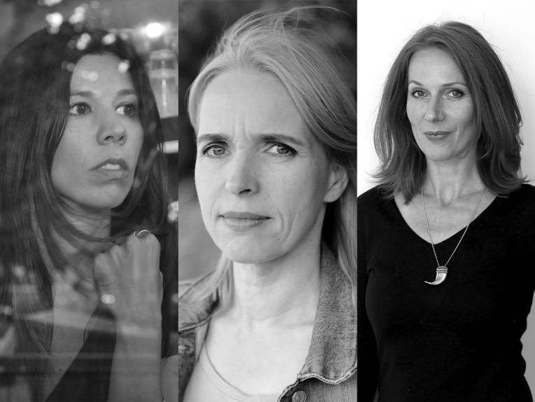 Franziska Stünkel, Annette Hess und Nina Weger