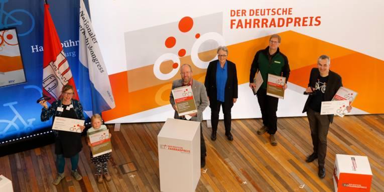 Die Preisträger des Deutschen Fahrradpreises 2021