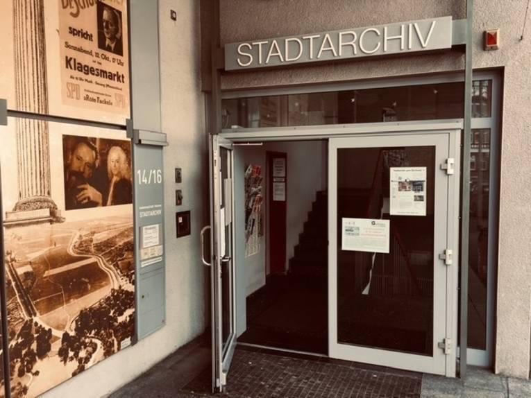 Das Stadtarchiv ist wieder zugänglich