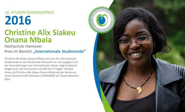 Christine Alix Siakeu Onana Mbala