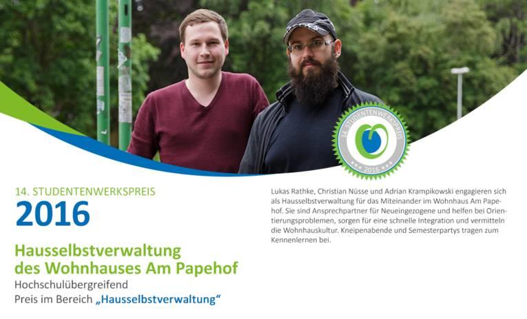 Hausselbstverwaltung des Wohnhauses Am Papehof
