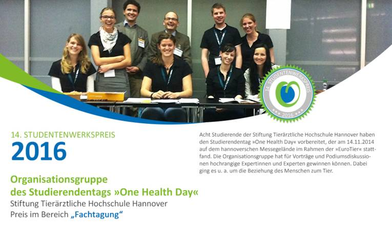 "Organisationsgruppe des Studierendentags ""One Health Day"""