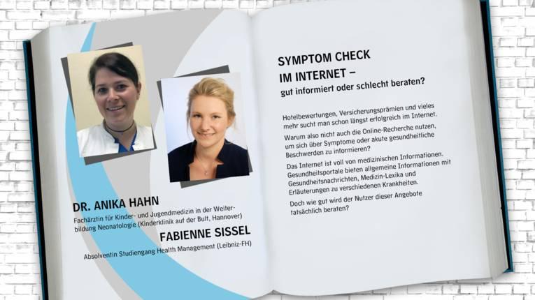 Autorinnengruppe: Dr. Anika Hahn, Fabienne Sissel