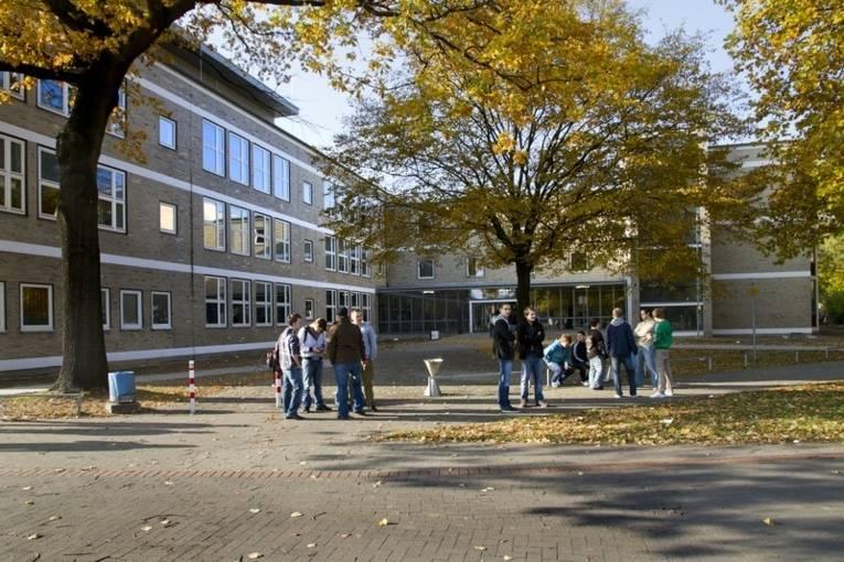 Das Schulgebäude der Berufsbildende Schule Metalltechnik-Elektrotechnik.