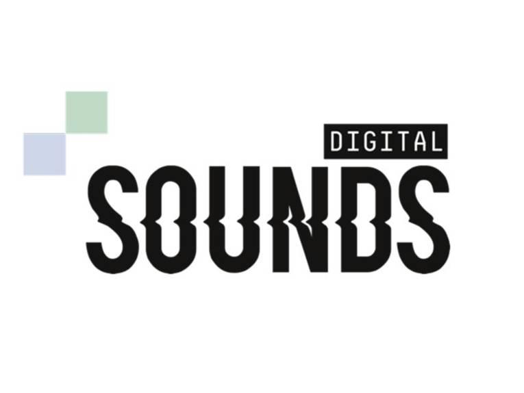 Schriftzug Digital Sounds