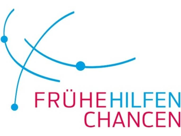 """Logo mit Schriftzug """"Frühe Hilfen Chancen"""""""