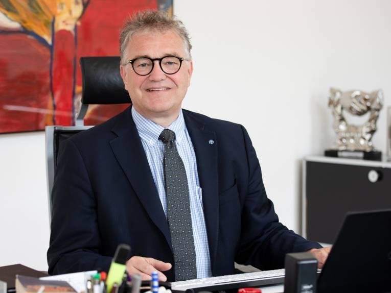 Regionspräsident Hauke Jagau