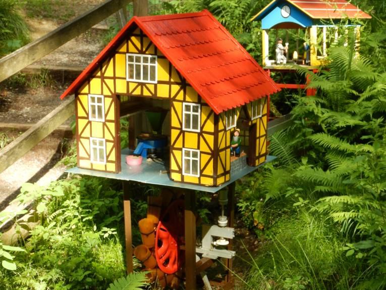 Modell eines Bauernhauses