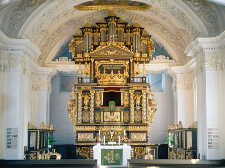 Barockes Kirchenschiff