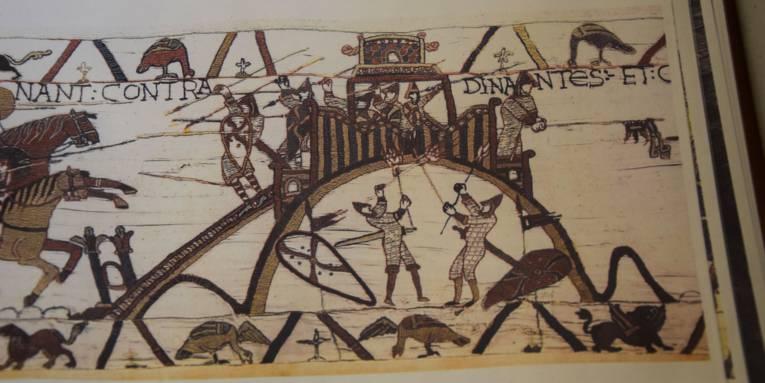 Teppich von Bayeux aus dem 11. Jh.
