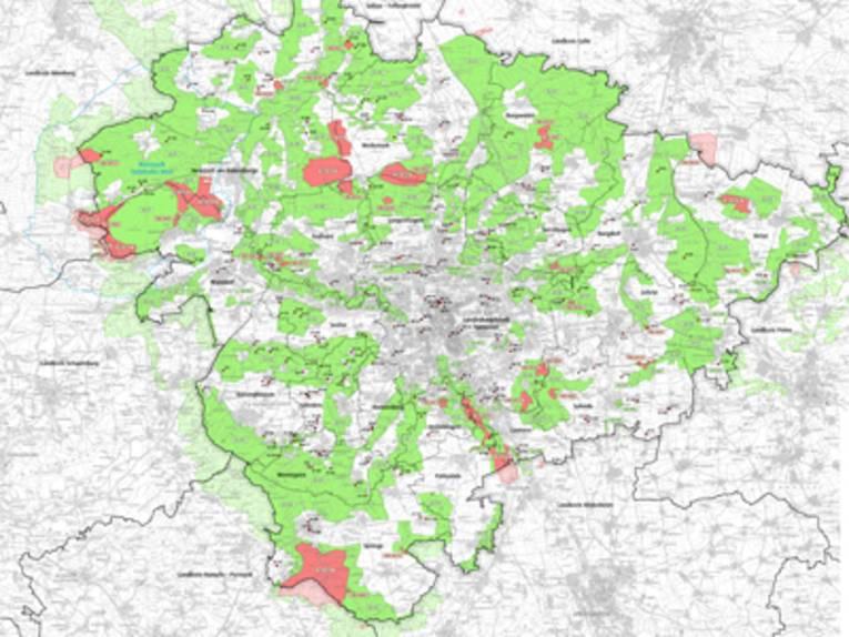 Natur- und Landschaftsschutzgebiete in der Region Hannover