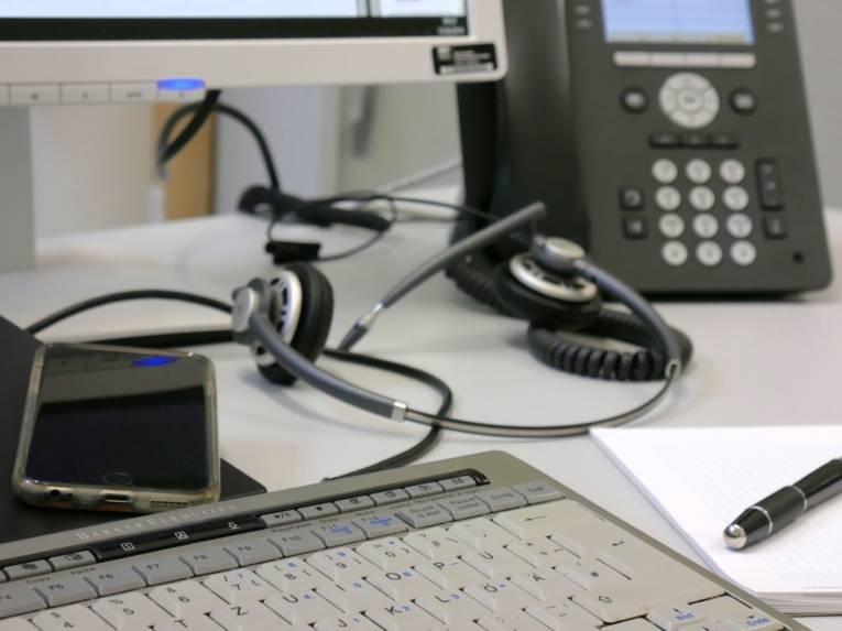 Tastatur, Headset, Telefon