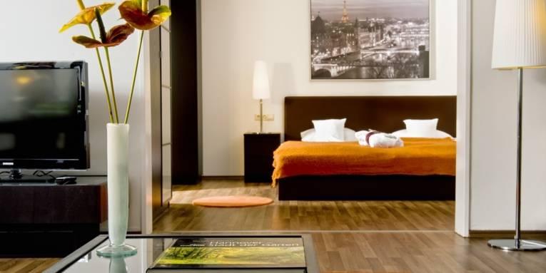 Zimmer im Wyndham Hannover Atrium Hotel
