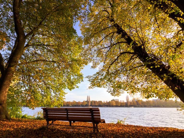 Maschsee im Herbst