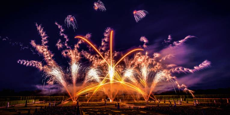 Freuen Sie sich auf ein einzigartiges Feuerwerk des europäischen Teams in den Herrenhäuser Gärten.