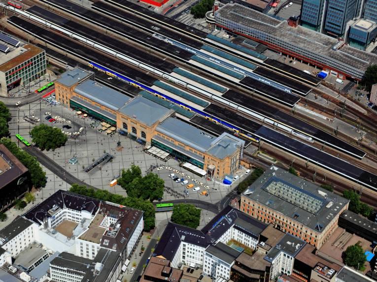 Der Hauptbahnhof in Hannover