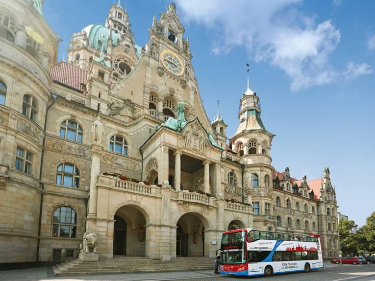 Stadtrundfahrt Rathaus