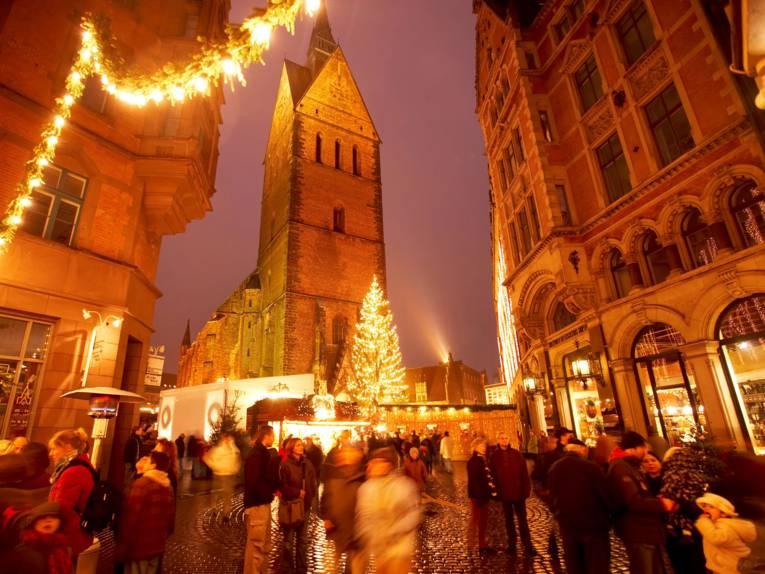 Christmas market old town Kramerstrasse