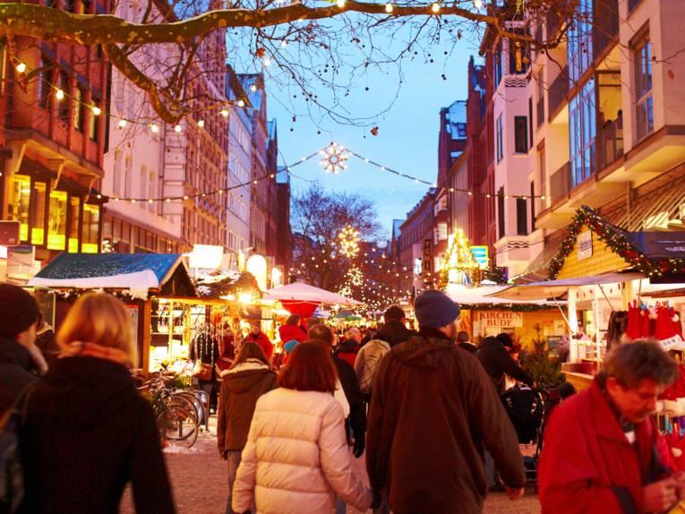 Weihnachtsmarkt Lister Meile