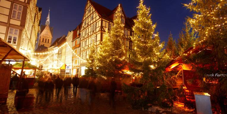 Christmas market at the old town