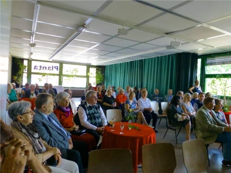 Zuschauer und Gäste der Bürger- und Integrationspreisverleihung.