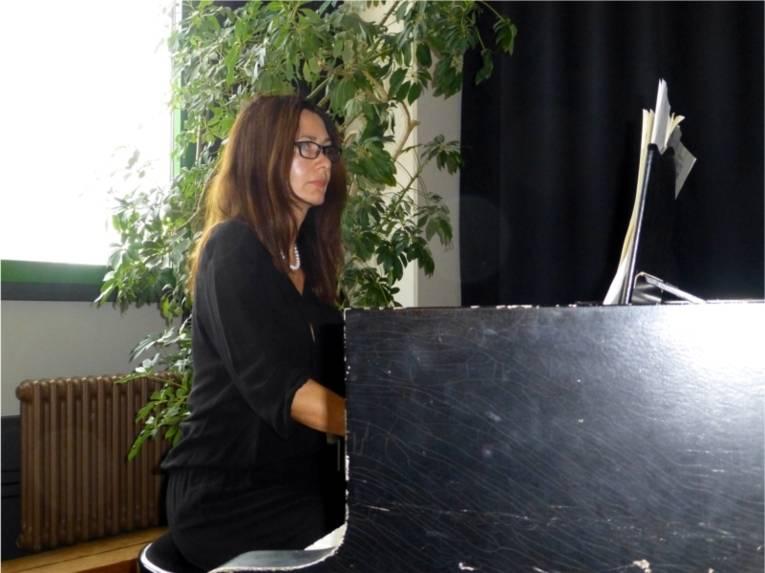 Pianistin Tatiana Kushnarevskaia