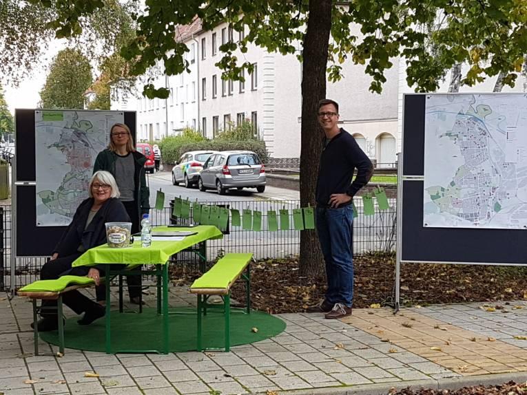 Werkausstellung im Rahmen des Projektes Mein Quartier 2030 im Stadtbezirk
