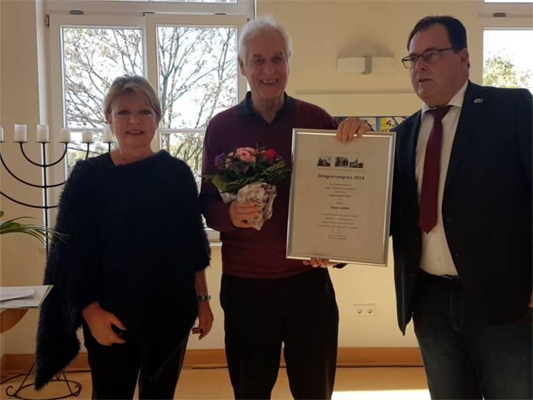 Der Integrationspreis 2018 geht u.a. an Jürgen Liedtke.