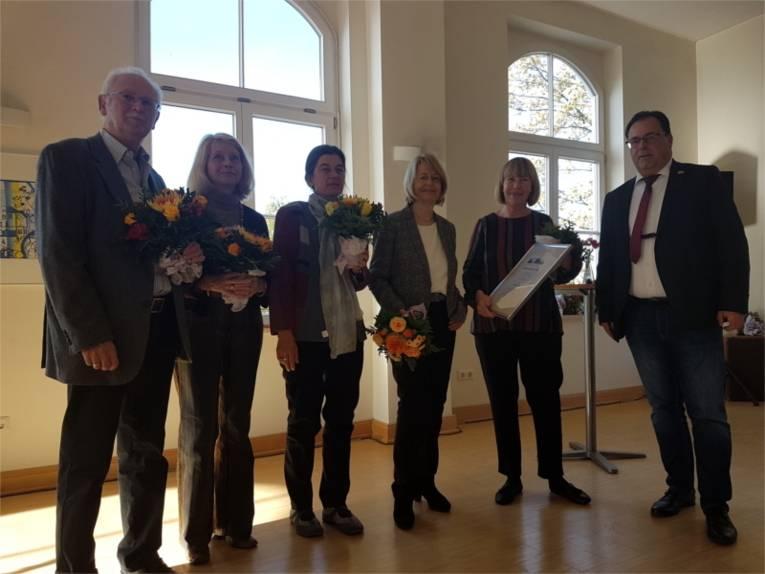 Der Integrationspreis ist Marlene Wolter verliehen worden.