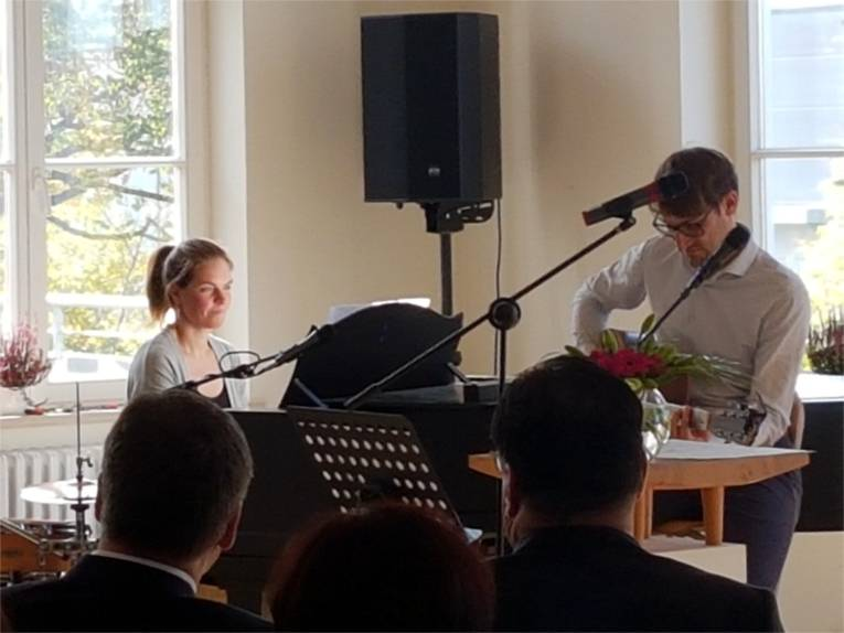 Rebekka und Markus Steil.